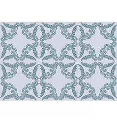 Vintage retro floral ornament pattern vector