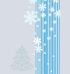 xmas background vector image