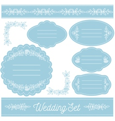 Wedding-set-3 vector