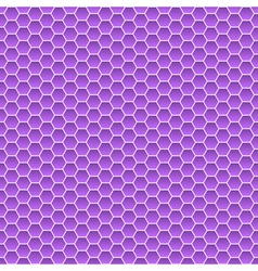 Seamless pattern of small hexagons vector