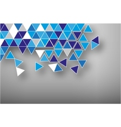Abstract background broken mozaic vector image