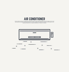 Air condition vector image