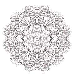 Henna paisley mehndi tattoo doodle seamless vector