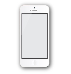White iphone vector