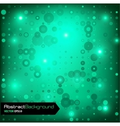 Green geometric abstract background vector image