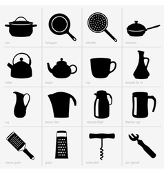 Kitchenware part 2 vector image vector image