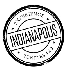 Indianapolis stamp rubber grunge vector