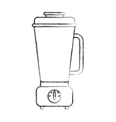 Isolated electric blender kitchen vector