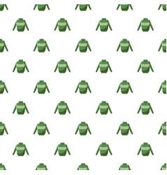 Mens sweater pattern vector