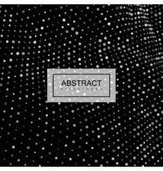 3d cyberspace grid vector