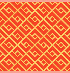 Abstract geometric seamless pattern chinese vector