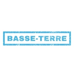 Basse-terre rubber stamp vector
