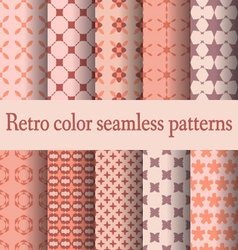 retro seamless pattern-02 vector image