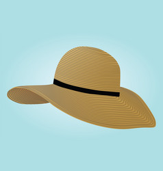Summer hat vector