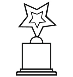 Star award vector