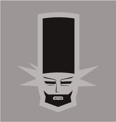 Elegant chef symbol vector image