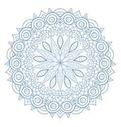 Unique mandala design ornamental pattern for vector