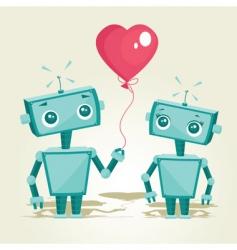 Valentines robot vector