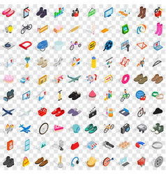 100 internet marketing icons set vector