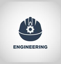 engineering logo icon design vector image vector image
