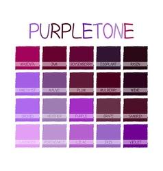 Purpletone color tone vector