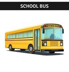 School Bus Design vector image vector image