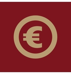The euro icon cash and money wealth payment vector