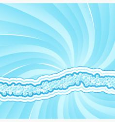 Funky bubbles background vector