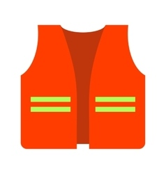 Construction jacket vector