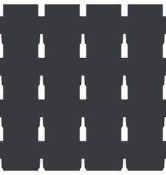 Straight black alcohol pattern vector