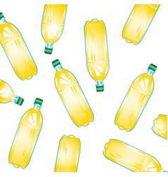 Bottles with juice vector