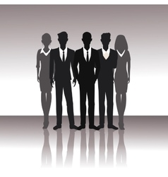 Business people teamwork successful vector