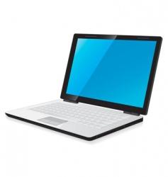 Laptop computer vector