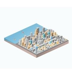 sea coast vector image