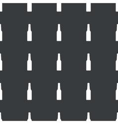 Straight black alcohol pattern vector