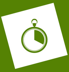 the 20 seconds minutes stopwatch sign vector image vector image