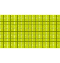 Green tiles vector image