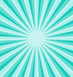 Retro Blue Star Shaped Background vector image
