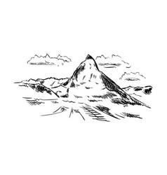 2016-9-5-matterhorn vector image