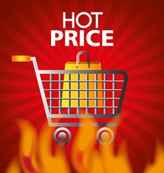 Hot price digital design vector