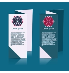 Brochures design for social infographic diagram vector