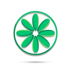 Lime logo template vector