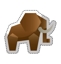 Animal low poly style vector