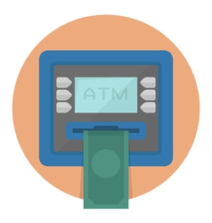 CircleATM vector image vector image