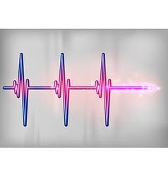 medical symbol blue vector image