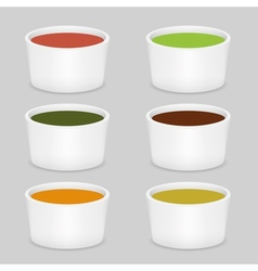 Six soup vector