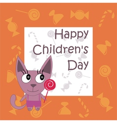 Childrens day vector