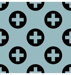 Pale blue medical pattern 1 vector