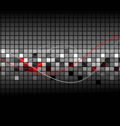 abstract graph vector image
