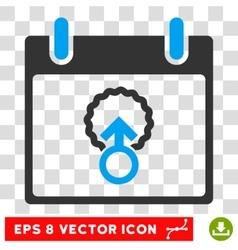 Cell penetration calendar day eps icon vector